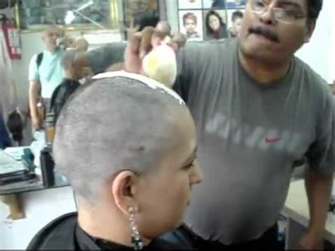 haircut and shaving humiliation barbershop headshave part 1 youtube