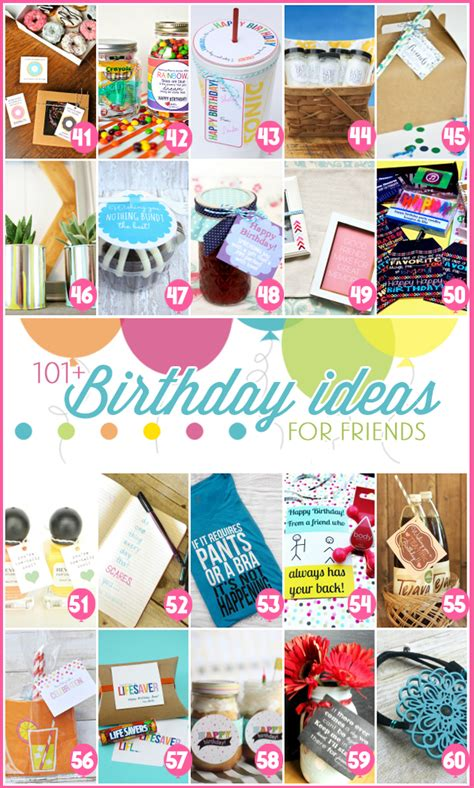 small gift ideas for friends 101 creative inexpensive birthday gift ideas the