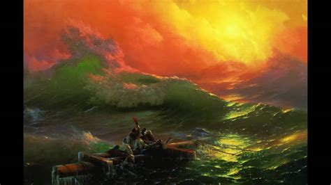 Pics For Gt Ivan Aivazovsky The Ninth Wave | the ninth wave ivan aivazovsky indukti youtube