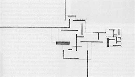 mies van der rohe floor plan completing mies van der rohe s brick country house