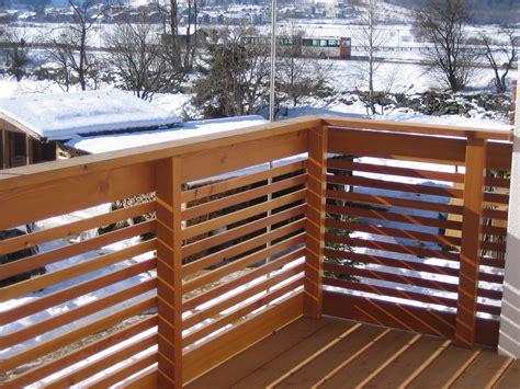 ringhiera legno ringhiera in legno esterno