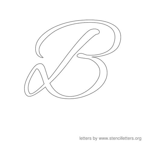 letter templates for painting capital b template new calendar template site