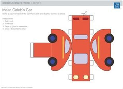 How To Make A Car With Paper Step By Step - best 25 caleb and ideas on jw org