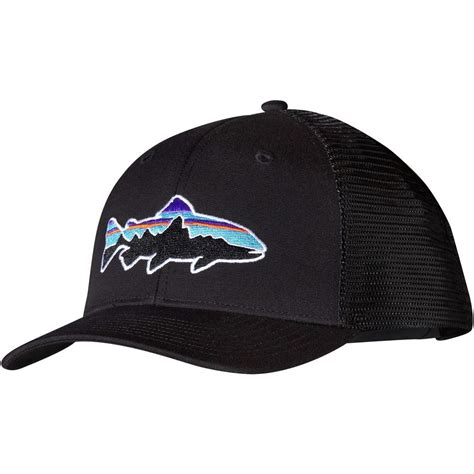 Trucker Hat Or Patagonia patagonia fitz roy trout trucker hat backcountry