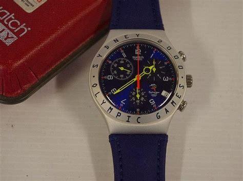 Swatch Irony Chronograp Original swatch irony chronograph 2000 sydney olympics unworn with o