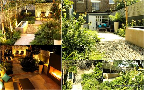 Townhouse Backyard Landscaping Ideas Backyard Landscaping Ideas Dense Greenery Complemented By A Rock Texture The Barnsbury Townhouse