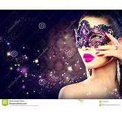 Masque De Port Carnaval Femme Sexy Image Stock