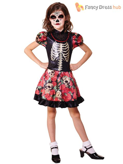 Dress Of The Day Thisbe Dress by Skeleton Sugar Skull Fancy Dress Day Of
