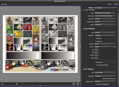 photo layout and printing software epson print layout 1 3 4 now available printers and