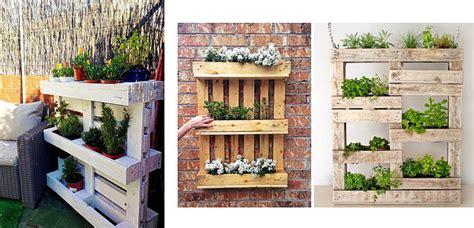 jardines con palets jardineras con palets para la terraza o jard 237 n