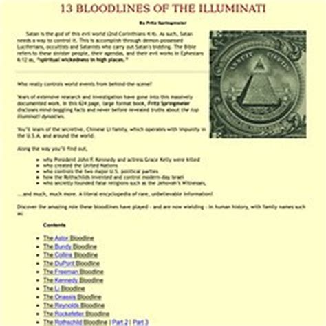illuminati 13 bloodlines 13 bloodlines of the illuminati the disney bloodline