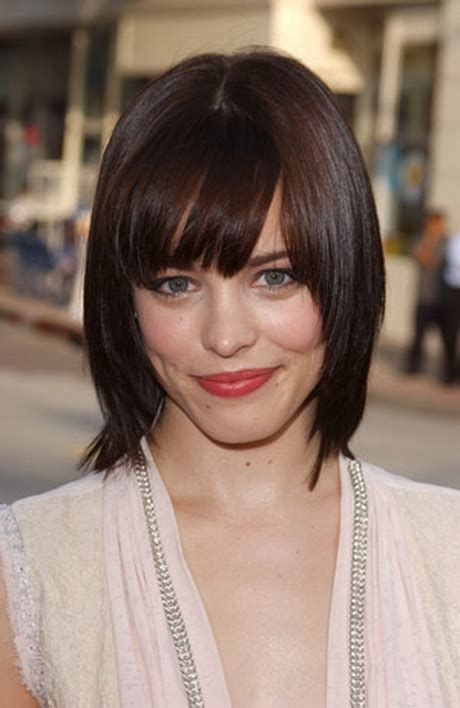 pictures of piecy bangs medium haircuts with bangs