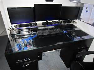 Meuble Bureau Informatique Gamer Table De Lit A Roulettes Bureau Pc