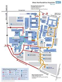 hospitals in map west herts hospitals nhs trust our hospitals