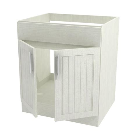 Outdoor Sink Cabinet by Weatherstrong Assembled 30x34 5x24 In Naples Open Back