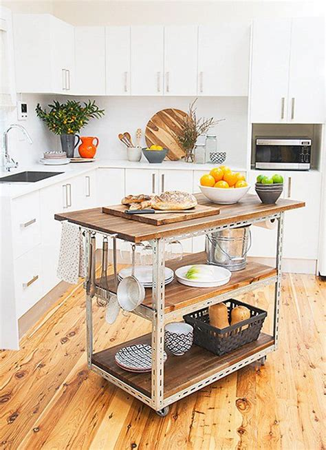 kitchen island cart ideas best 25 mobile kitchen island ideas on pinterest