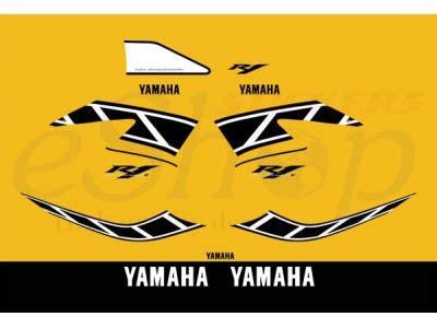 Yamaha Aufkleber Set by Yzf R1 2006 50th Anniversary Set Eshop Stickers