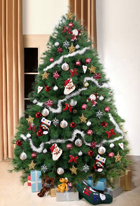 scottish fir green christmas tree 8ft tall artificial