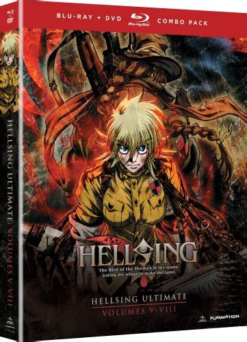 best cameravideo combo hellsing ultimate volumes 5 8 collection dvd