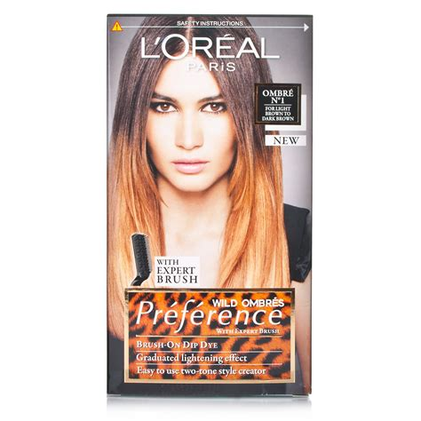 Loreal Ombre l oreal recital preference ombre light brown to