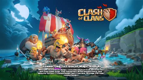 game coc mod 100 work clash of magic coc private server mod apk unlimited all