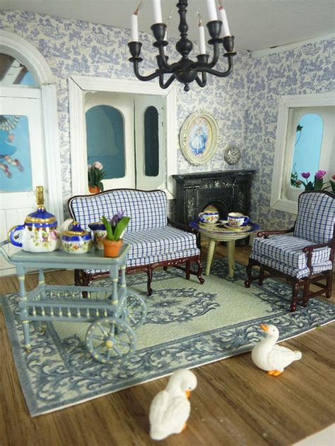 dollhouse living room dollhouse living room miniatures pinterest