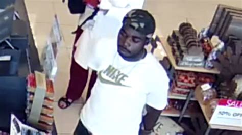 Stealing Gift Cards - mobile police suspects sought for stealing gift cards from vehicle wear
