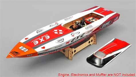 rc racing boats gas powered new exceed racing fiberglass gas powered rc 1300mm speed