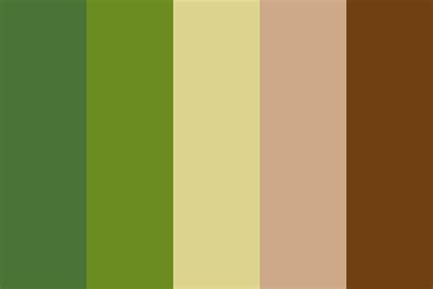 avocado color palette