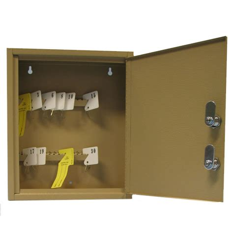 barrel key cabinet dual lock 30 key unit