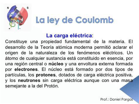 la ley de los 1101969768 ley de coulomb