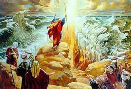 Kisah Nabi Musa As Membelah Lautan bukti bahwa nabi musa pernah membelah lautan bekal