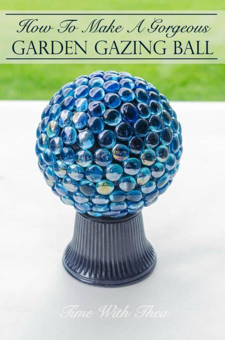 Gazing Ball Stand Ideas 40 Diy Mosaic Design Ideas With Tile Rocks And Glass