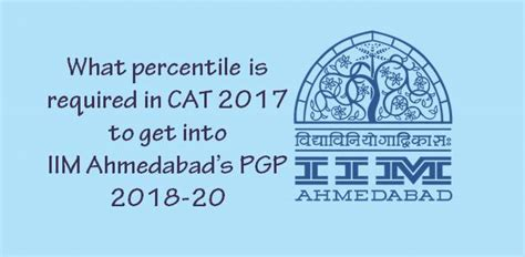 Iim Ahmedabad Cut 2017 For Mba by Iim A Sets 70 Percentile Cutoff For Pgp 2018 20 Admissions