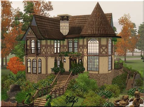1 Bedroom Cottage Floor Plans My Sims 3 Blog Victorian House 2 By Visty6