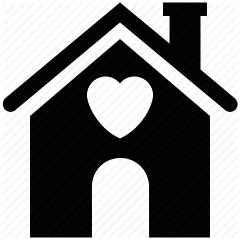 home  heart sign house house  heart sign love