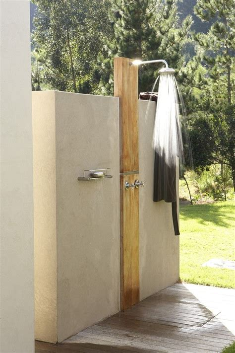 outdoor shower private by design house and leisure outdoor showers