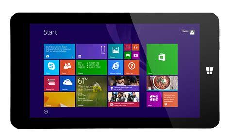 Tablet Windows mitraveler 803w 8 quot windows tablet