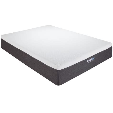 Gel Memory Foam Mattress King by Cool Gel King Size 12 In Gel Memory Foam Mattress 410079 1160 The Home Depot