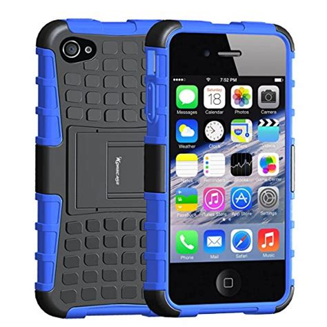 Armor Bumper Dual Layer Soft Casing Cover Apple Ip Berkualitas 1 compare price iphone 4 bumper blue on statementsltd