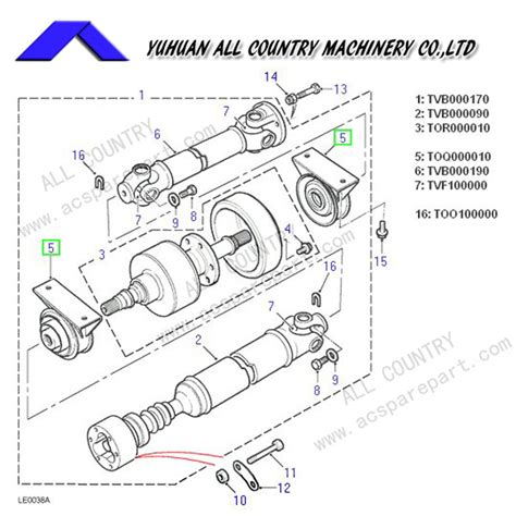 land rover freelander propshaft rear propshaft driveshaft tvb000190 product center yuhuan