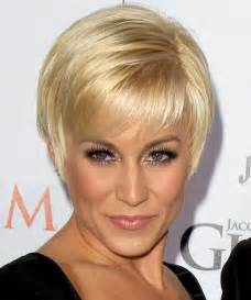 kellie pickler short straight formal hairstyle