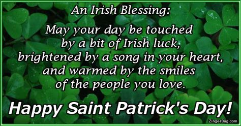 Happy St Patricks Day Meme - saint patricks day luck irish blessing glitter graphic
