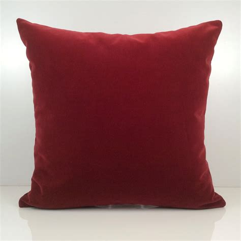 burgundy sofa pillows bright burgundy pillow throw pillow cover decorative pillow