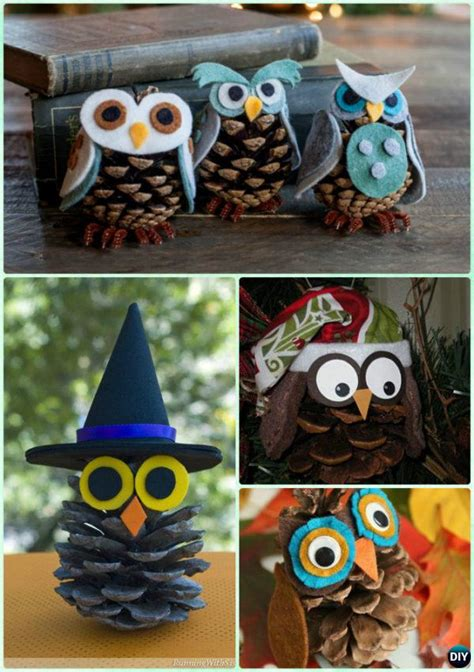 diy pinecone crafts diy pine cone craft ideas projects picture