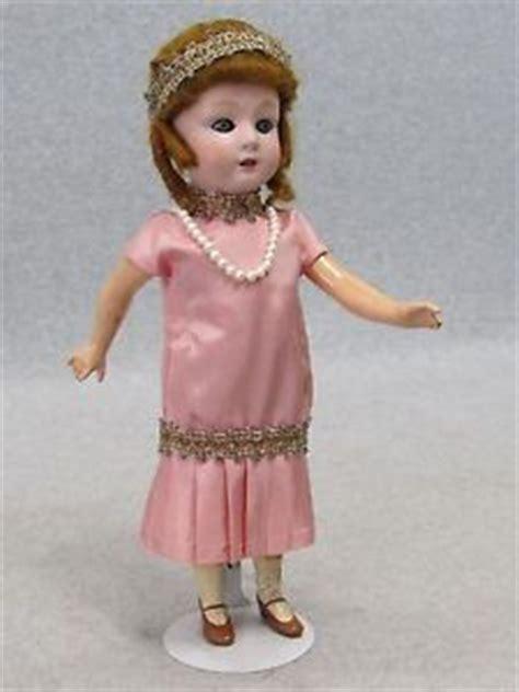 composition flapper doll 11 quot vintage antique bisque composition german
