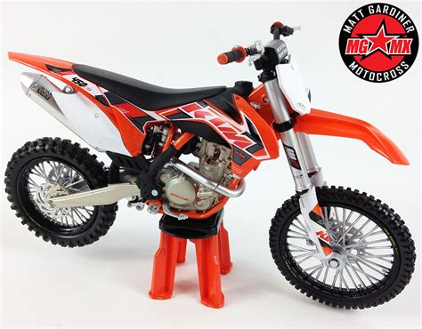toy motocross official ktm sx f 450 1 12 motocross mx toy model bike