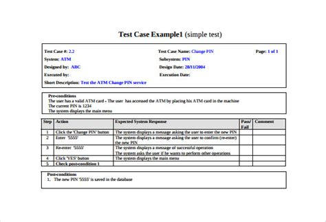 free use template test template 25 free word excel pdf documents