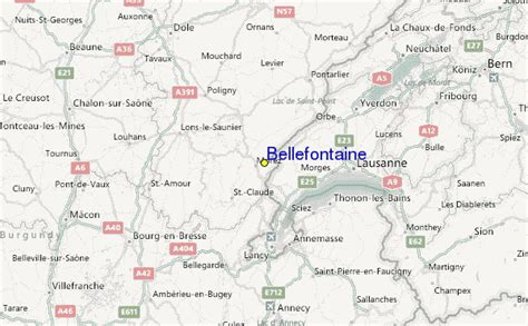 Bellefontaine Ski Resort Guide, Location Map & Bellefontaine ski holiday accommodation