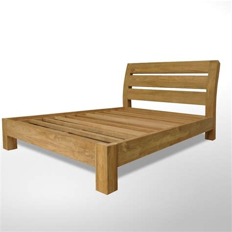 Curved Wooden Bed Slats Pin By Unfinished Furniture On Minimalist Simple Furniture